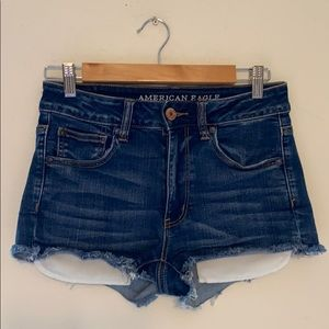 American Eagle HighRise Shorts